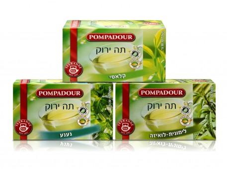 תה ירוק פומפדור