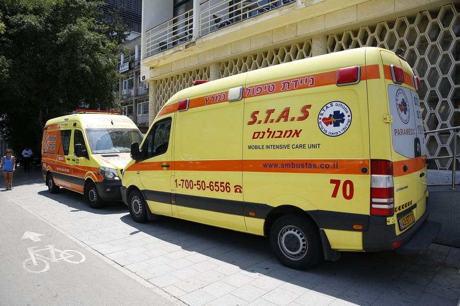 בנפט 600+600 • הוכפלו האמבולנסים בישראל - כל הזמן SG-45