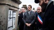 הפגינו בצרפת: חולל בית העלמין