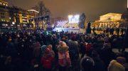 חנוכה בבירת רוסיה: מאות אלפי יהודים