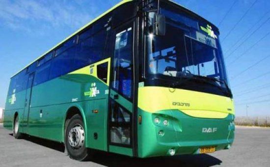 """אוטובוס אגד תעבורה (צילום: יח""""ץ)"""