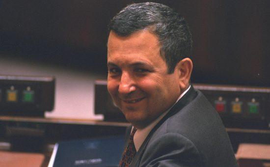 אהוד ברק כשר החוץ ב-1996 צילום אבי אוחיון לעמ אהוד ברק כשר החוץ ב-1996 צילום אבי אוחיון לעמ