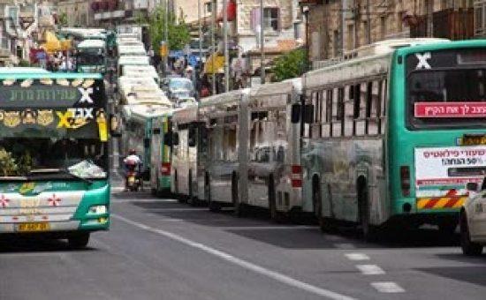 אילוסטרציה: אוטובוסים