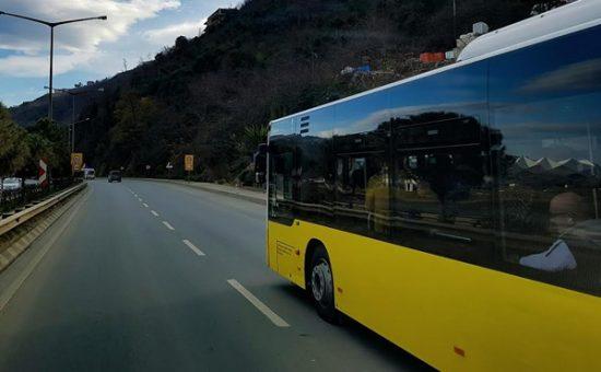 אוטובוס בכביש