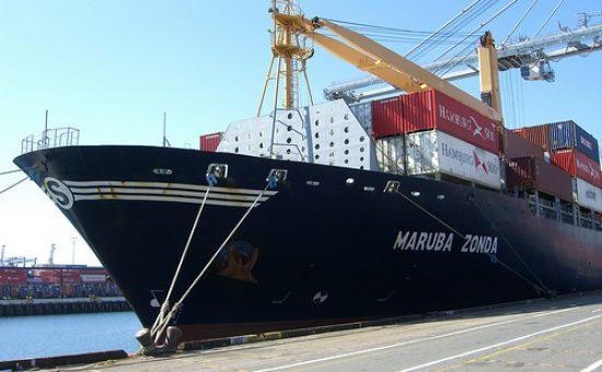 אוניה בנמל