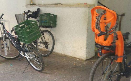 אופנייים בשכונה