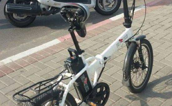 אופניים חשמליים. צילום: משטרת ישראל