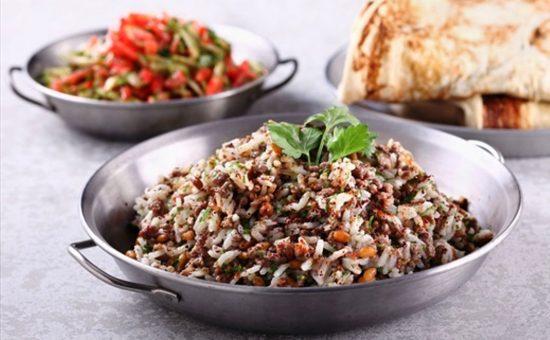 אורז יסמין עם בשר טלה | צילום: דן פרץ
