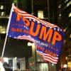 תיעוד נרחב: ליל הבחירות בכיכר הכי מפורסמת בעולם