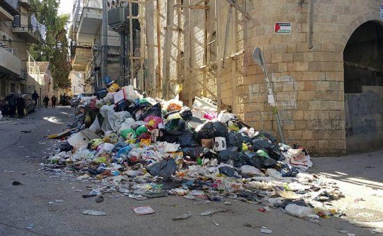 ארכיון: אשפה ברחובות ירושלים, צילום: שמוליק אברהם