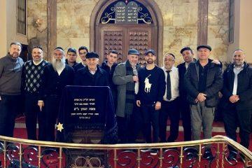 """המסע לטורקיה: תפילה על קברו של הגר""""ח פלאג'י זיע""""א"""