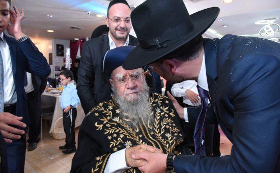 בבר המצווה לבנו של עו''ד יואב ללום