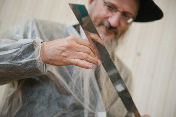 רוסיה: בדיקת סכיני השוחטים לקראת ראש השנה