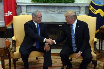 """טראמפ ונתניהו """"דנו באיום האיראני"""""""