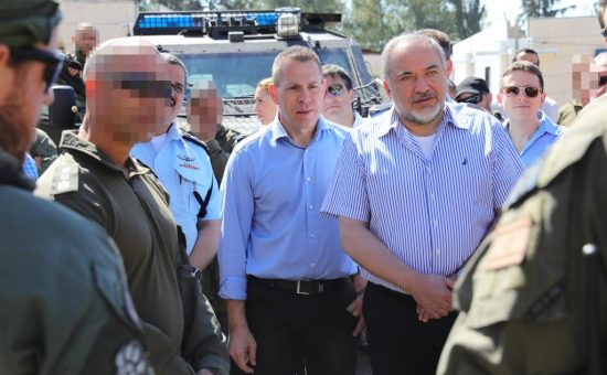 ביקור ליברמן ארדן ואלשיך ביממ צילום דוברות המשטרה (5)