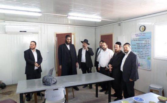 ביקור עיריית אלעד אהל אשר
