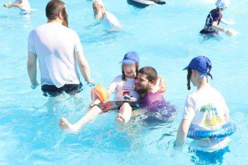 יום כיף למאות הילדים המיוחדים של ארגון 'בלב אחד' ובני משפחותיהם