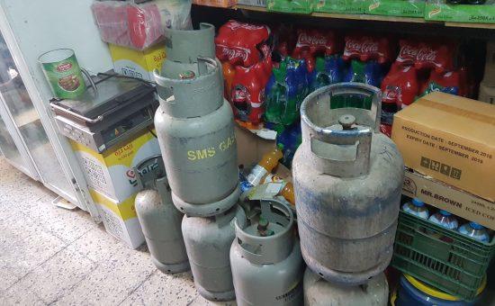בלוני גז ברובע המוסלמי בירושלים