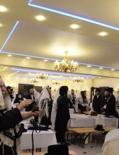 בהילולא: נחנכה הכנסת אורחים בברדיטשוב