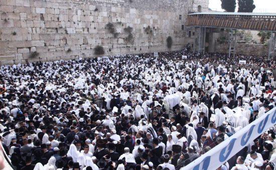 ברכת כהנים והקבלת פני הרבנים הראשיים לישראל, צילום יחידת הדוברות במשטרת ישראל (10)
