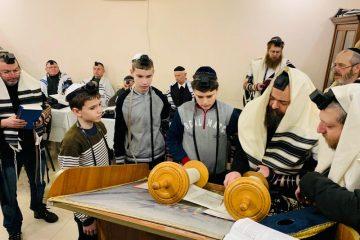 חגיגה בוויניצא: בר מצווה משולשת