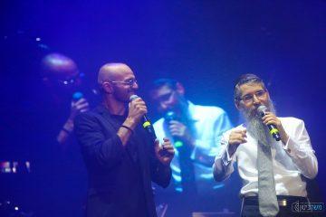 'בשבע' חגגו עם אברהם פריד ואלפים שהצטרפו