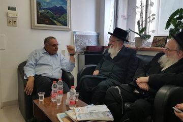חבר הכנסת אייכלר הגיע ל'הדסה'