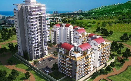 בשכונת נאות פרס בחיפה פרויקט טורקיז של חברת יוסי אברהמי