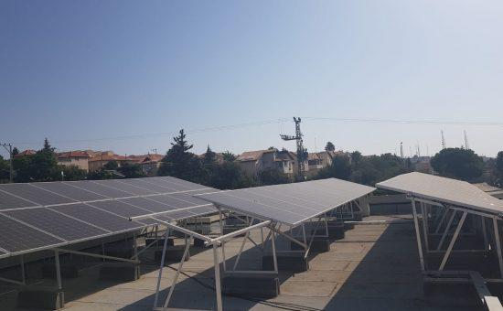 גג סולארי חדש בממלכתי ב