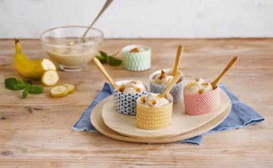 גלידה בננה ותמרים של אלפרו צילום יחצ