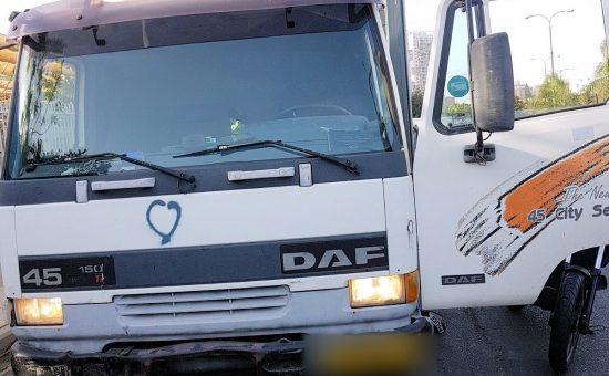 דלת של משאית