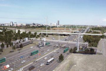 בני ברק: גשר הולכי רגל חדש מעל 'גהה'