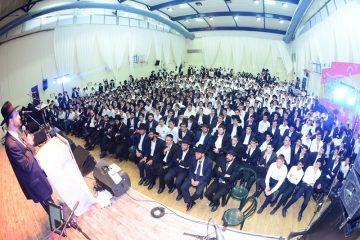 הושק בטקס מרגש: ארגון הגג לבני התורה באלעד