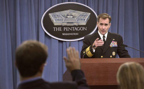 דובר משרד החוץ האמריקאי ג'ון קירבי. צילום:  Glenn Fawcett