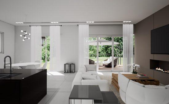 דירת גן בפרויקט HI NESS VILLAGE של חברת סרוגו בצפון החדש של נס ציונה - קרדיט 3VEVISION (1)
