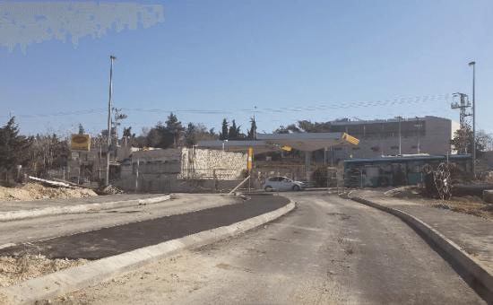 דרך כרמית - התחברות לרחוב פסח חברוני (2)