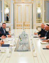 """נשיא אוקראינה: """"להפוך את אומן לירושלים קטנה"""""""