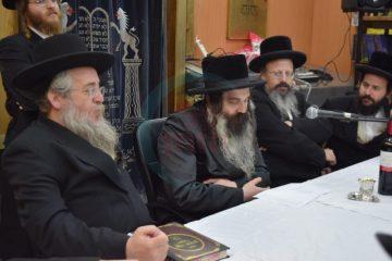 """גלריה: האדמו""""ר מזוטשקא בחיפה"""