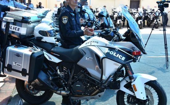 האופנועים החדשים של משטרת התנועה