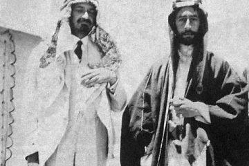 הערבים עזרו לבריטים להביס את הטורקים