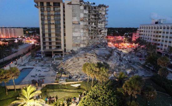 הבניין שקרס במיאמי