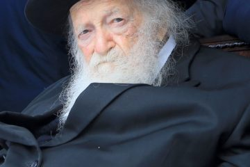 """גלריה: הגר""""ח קנייבסקי בירושלים"""