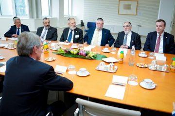 נשיא הפרלמנט: לא נסבול אנטישמיות ואלימות