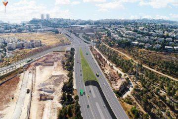 הפרויקט התחבורתי המרכזי בצפון ירושלים יצא לדרך
