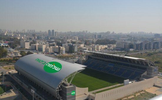הדמיה של אצטדיון שלמה ביטוח. צילום שביט. וזהו