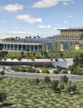 עיריית ירושלים אישרה את הרחבת משכן הכנסת