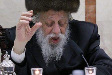 """גלריה: האדמו""""ר מקאפיטשניץ בהילות ה'אוהב ישראל'"""