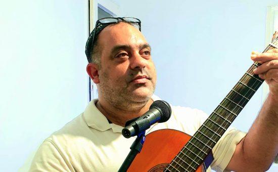 המוזיקאי דב הלפרין - צילום ישראל סומך