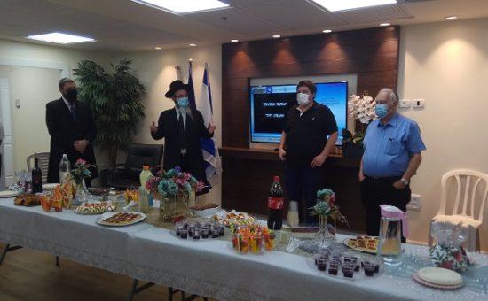 המועצה הדתית - הרמת כוסית תשפא