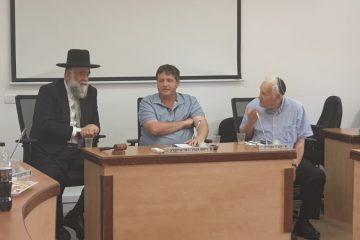 יהדות בראש: רמי גרינברג עם המועצה הדתית
